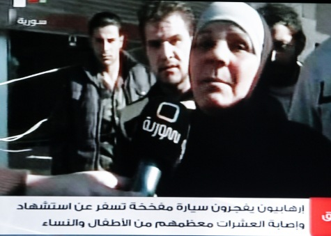 Woman comments on car bomb