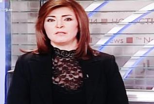News reader, Syrian TV, December 2012