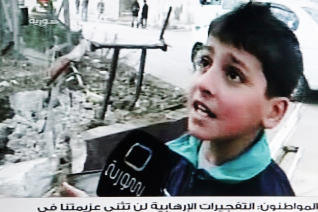 Boy asks why 'rebels' want to shut schools