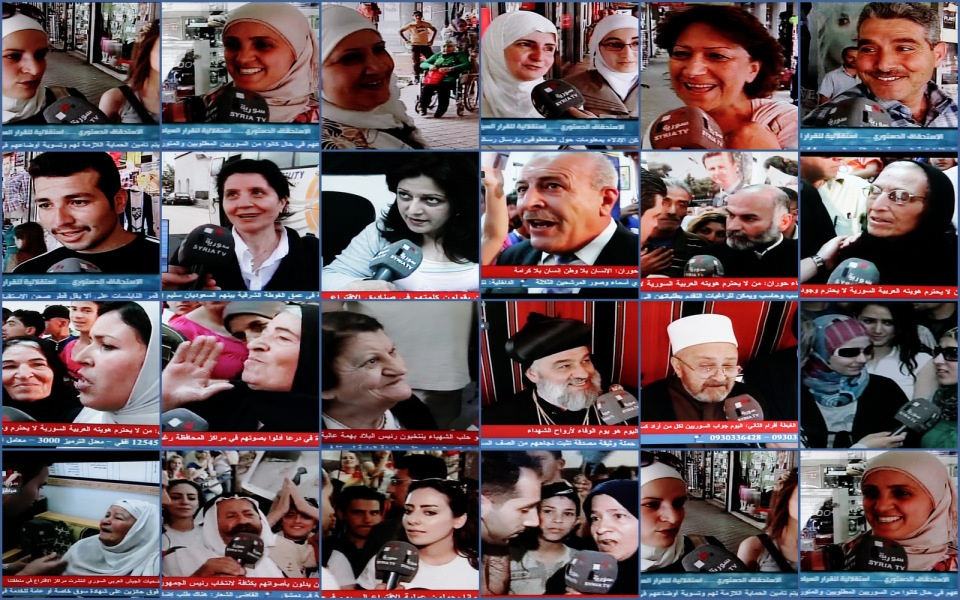 2 and 3 June 2014 Syrian election