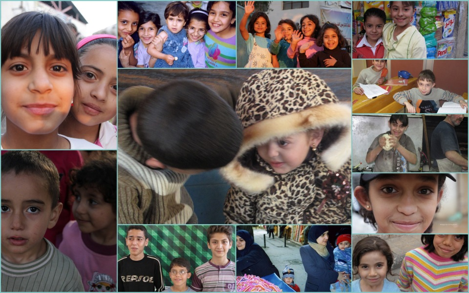 Children of Syria Collage