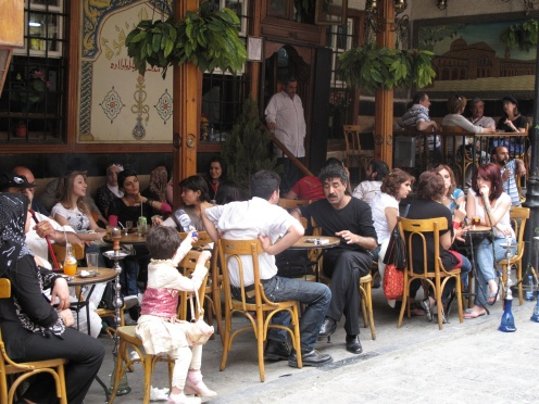 Cafe Behind Umayyad Mosque