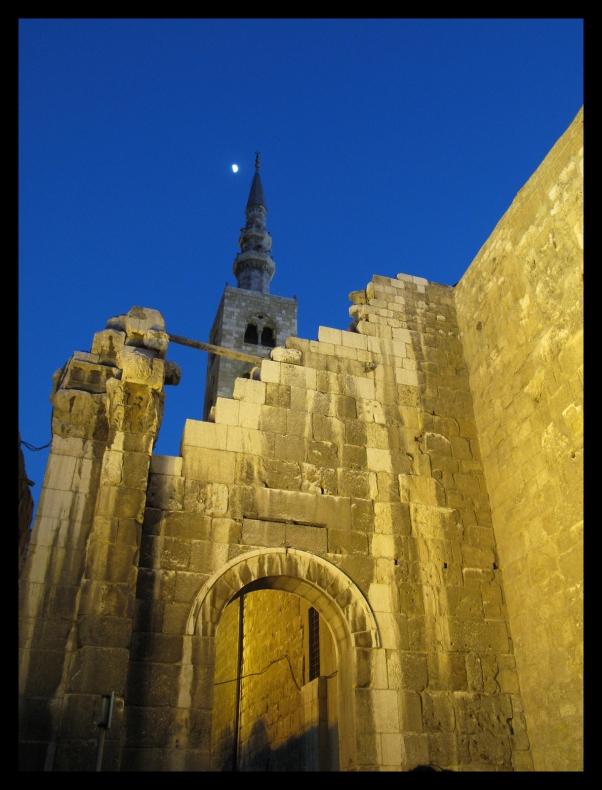 Jesus Minaret Umayyad Mosque