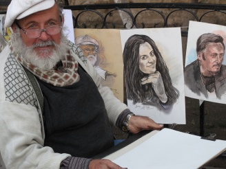 Street Artist Damascus